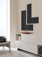 Dual energy decorative radiator BRICK - SCIROCCO H