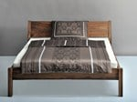 Solid wood double bed NORA - Vitamin design