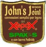 CONNESSIONI PER LEGNO IN EPOSSIDICO CON BARRE JOHN'S JOINT� - CENCI LEGNO
