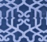 Tecido de damasco jacquard de veludo ALHAMBRA - Dedar