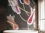- Ceramic wall tiles TULI ART - CERAMICA BARDELLI