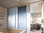 Wall tiles / glass MATELUX - AGC Flat Glass Italia