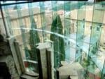 Muro cortina con fijación puntual FACCIATE IN VETRO FARAONE - FARAONE