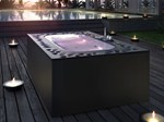 - Overflow above-ground hot tub ARIMA | Above-ground hot tub - Glass 1989