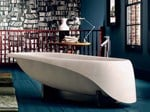 Freestanding Ductal® bathtub CONCRETE SOFT - Glass 1989