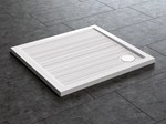 Anti-slip square shower tray FLAT | Square shower tray - Glass 1989