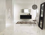Porcelain stoneware wall/floor tiles with marble effect INNOVATIVE SLABS | Bianco Paonazzetto - ARIOSTEA