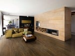 - Porcelain stoneware wall/floor tiles with wood effect LEGNI HIGH-TECH | Rovere Scuro - ARIOSTEA