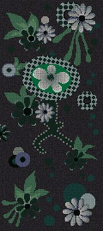 Glass Mosaic MOONLIGHT GARDEN - BISAZZA Mosaico