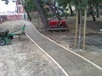Stabilized earth road pavement Glorit/A - Studio Muscatelli Pietro