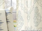 Tendaggio in lino LOCKET PRINT - Zimmer + Rohde