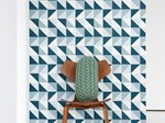 Geometric Optical nonwoven wallpaper REMIX | Wallpaper - ferm LIVING