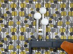 Motif nonwoven wallpaper GRACEWOOD - ferm LIVING