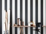 Striped wallpaper VERTIGO | Wallpaper - ferm LIVING