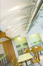 Isole acustiche in fibra minerale ULTIMA CANOPY - ARMSTRONG BUILDING PRODUCTS