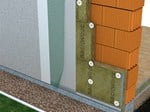 Exterior insulation system Frontrock (RP-PT) - ROCKWOOL ITALIA