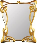Framed mirror METROPOLITAIN - Adonis Pauli HOME JEWELS