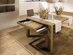 Extending wooden dining table ET 1400 | Dining table - Hülsta-Werke Hüls