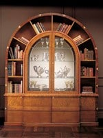 Bookcase Display cabinet ARCO DUE - Carpanelli Classic