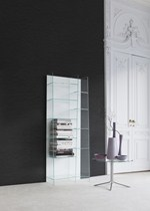 Libreria autoportante modulare in vetro DELPHI H. 190 - SOVET ITALIA