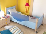 - Solid wood single bed PISOLO - dearkids