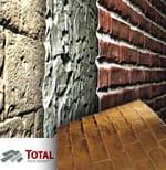 Rivestimento in vetroresina effetto mattone o pietra TOTAL PANEL SYSTEM� - SPAZIOARREDA
