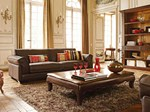 - Leather sofa DARLINGTON - ROCHE BOBOIS