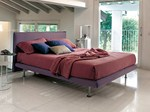 Upholstered double bed BILLO | Double bed - Bonaldo