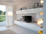 Sectional TV wall system MAURA | Storage wall - Cucine Lube