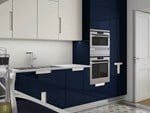 Kitchen with integrated handles CARRÉ 06 - ERNESTOMEDA