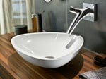 - Wall-mounted washbasin mixer AXOR STARCK ORGANIC | Wall-mounted washbasin mixer - HANSGROHE
