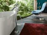 - Floor standing bathtub mixer AXOR STARCK ORGANIC | Floor standing bathtub mixer - HANSGROHE