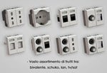 Electrical socket and outlet HIDE - 4 BOX