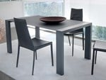 - Lacquered rectangular MDF table FASHION-140 - DOMITALIA