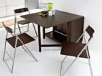 - Extending rectangular wooden table ICON | Table - DOMITALIA
