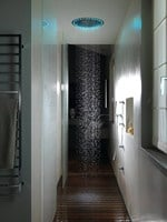 Overhead shower with built-in lights SANDWICH COLOURS - CRISTINA Rubinetterie