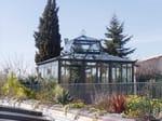 Giardino d'inverno in ferro e vetro SALA LETTURA - CAGIS