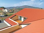 Insulated metal panel for roof ISOCOPPO - FIBROTUBI