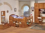 Fitted wooden bedroom set for boys CAMERETTA DEL CAPITANO | Bedroom set for boys - Caroti