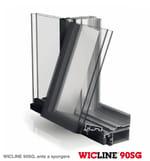 Janela de alumínio WICLINE 90 SG - WICONA