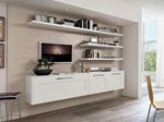 Wall-mounted ash storage wall GALLERY | Ash storage wall - Cucine Lube