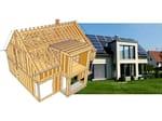 Progettazione tetti e case in legno WOODCON AB - TETTI E CASE IN LEGNO - SYSTEMS EDITORIALE E FINANZIARIA