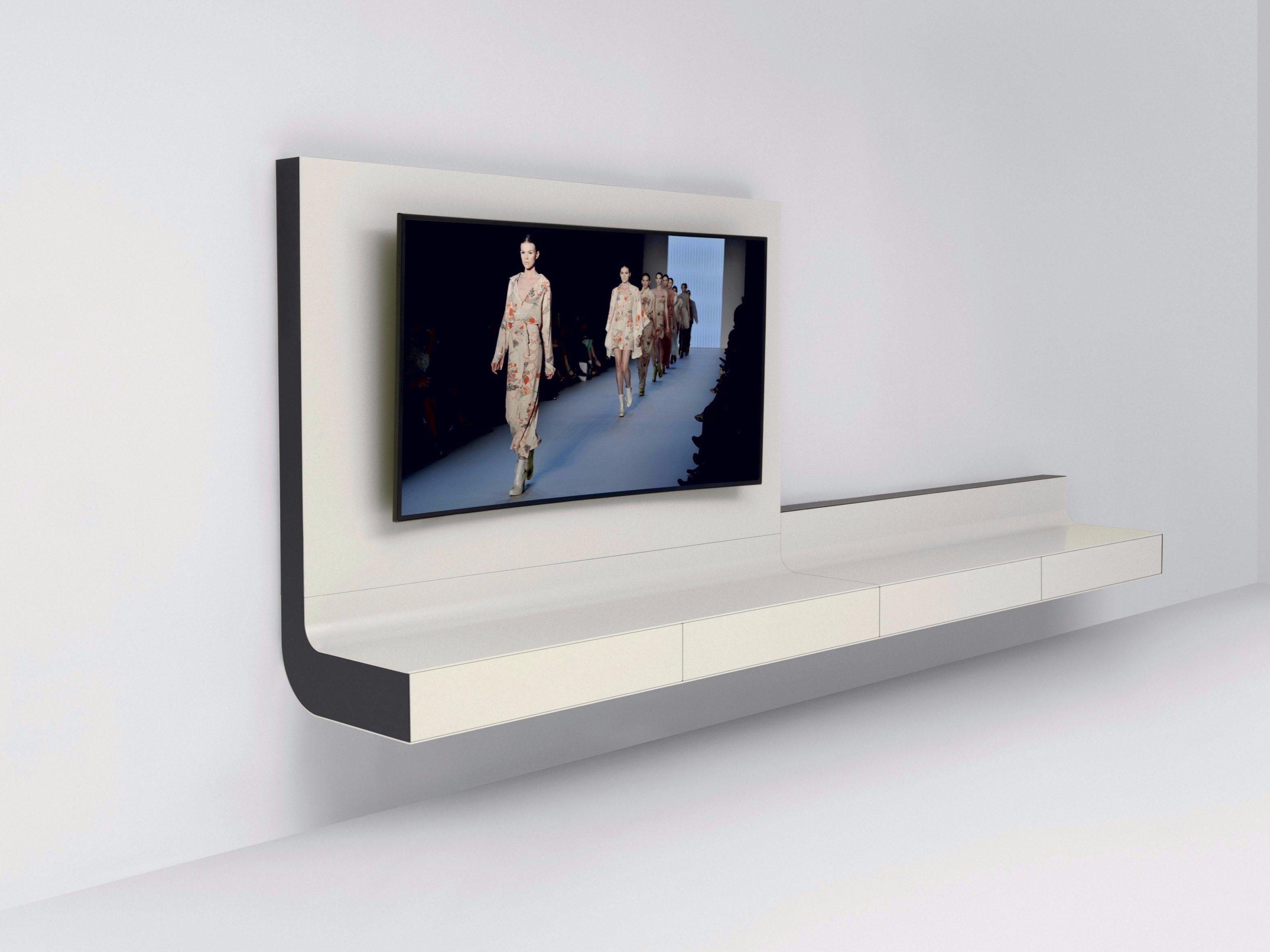 Mobili sospesi mobili bagno moderni sospesi completo con for Mobile tv sospeso