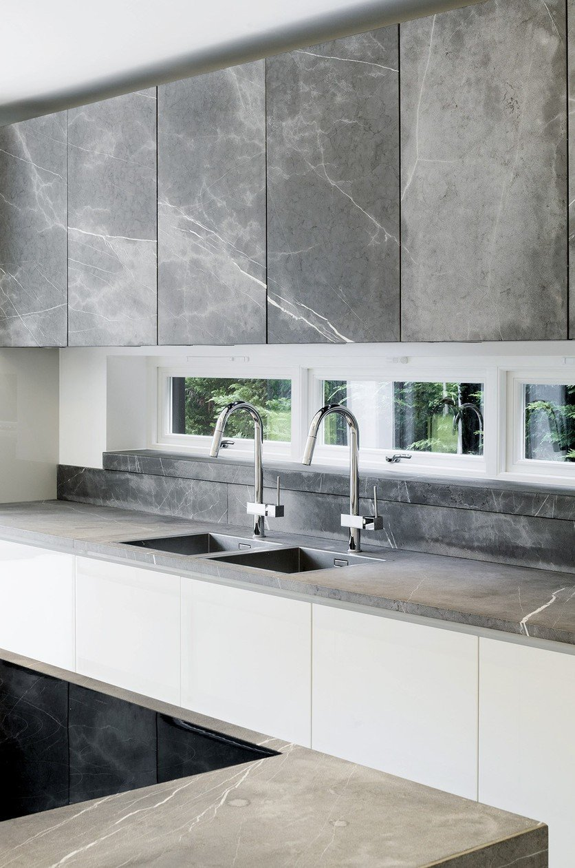 Awesome Cucine In Pietra Naturale Contemporary - Ideas & Design ...