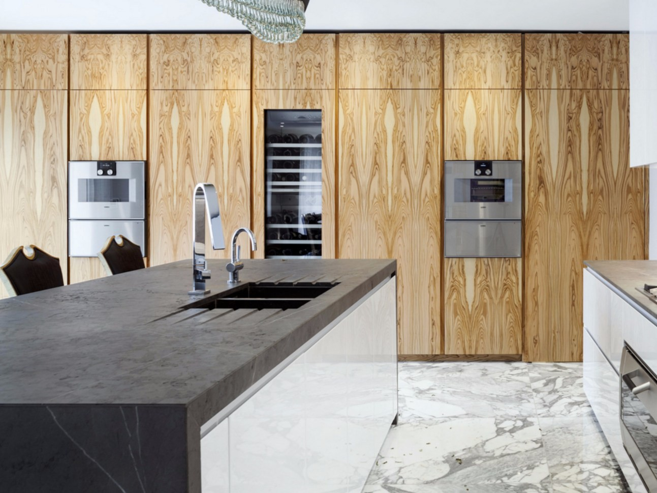 natural stone kitchen by tm italia cucine