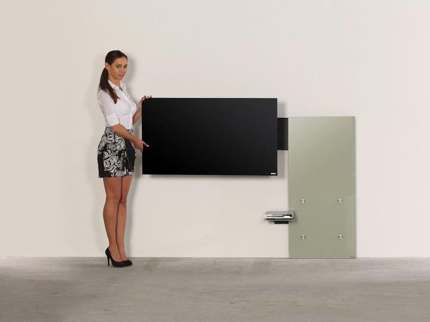 117 meuble tv orientable by wissmann raumobjekte for Meuble tv orientable