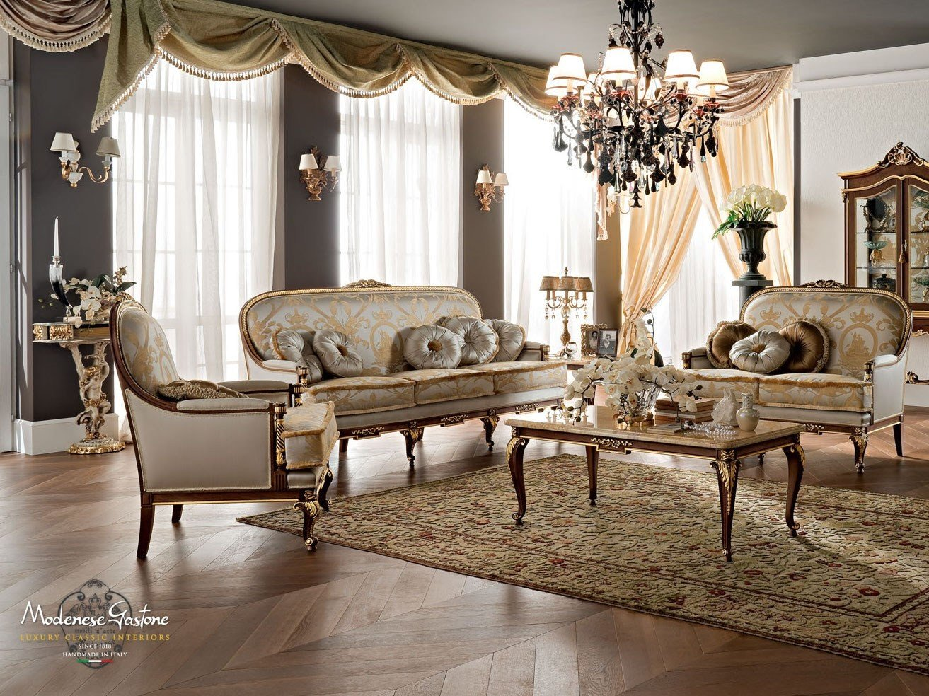 12418 sofa by modenese gastone group for Modenese gastone