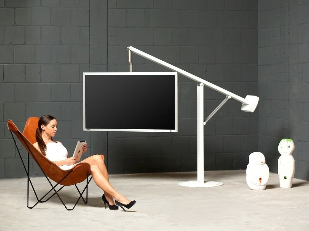 131 mobile tv by wissmann raumobjekte design wissmann raumobjekte - Mobile tv orientabile ...