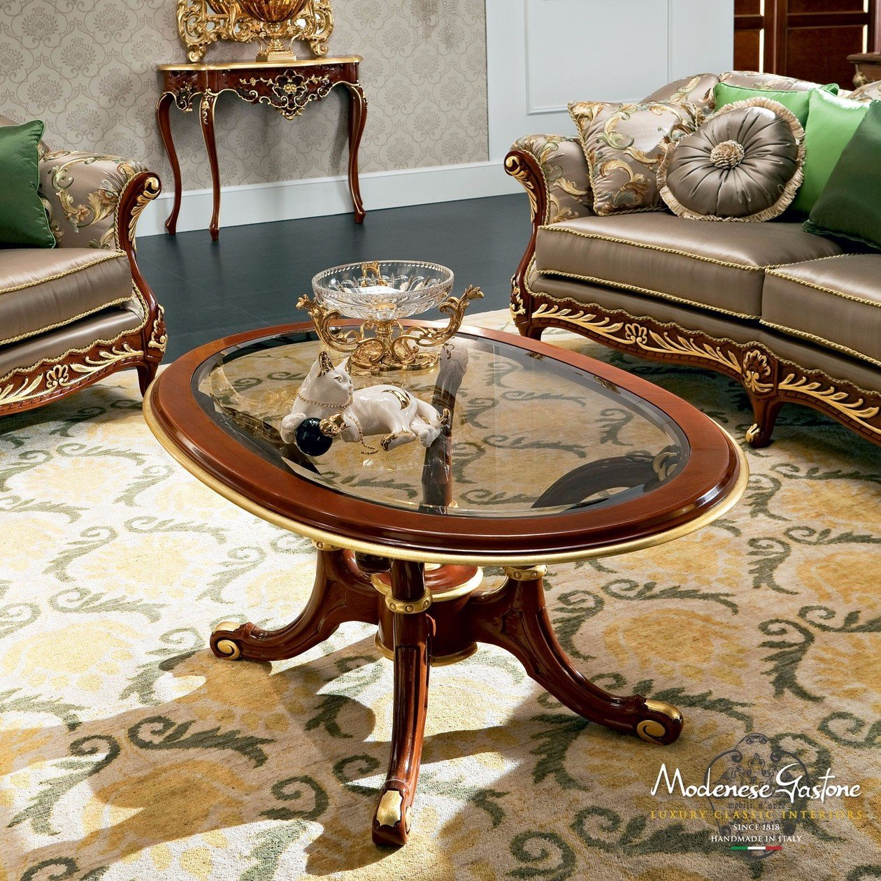 13654 coffee table by modenese gastone group for Modenese gastone