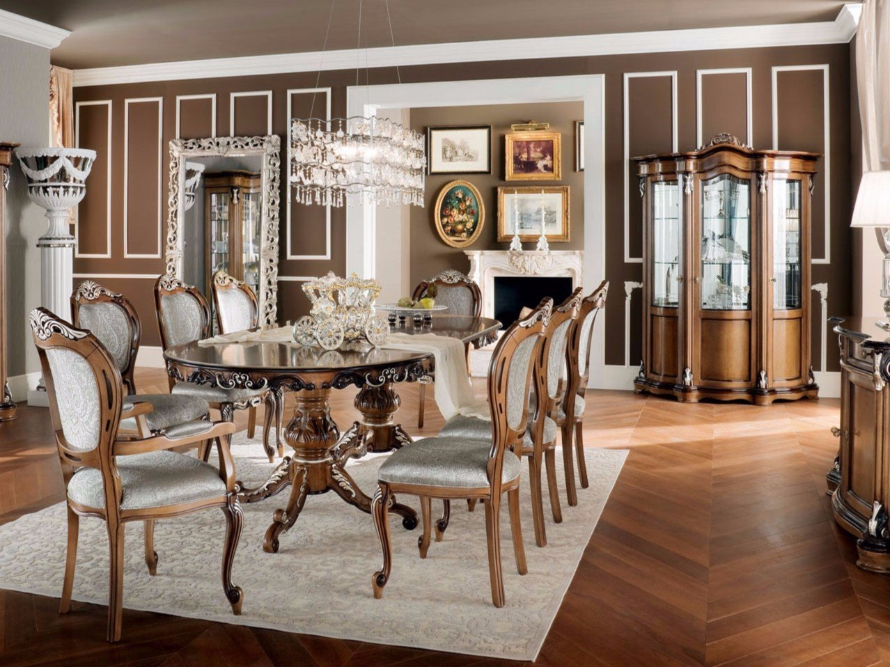 Hooker Furniture Dining Room Bandera 86in Table w218in